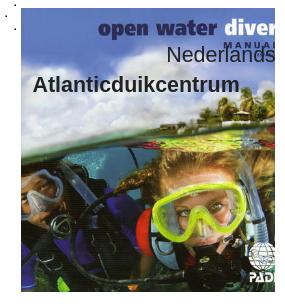 Padi Open water Diver cursus
