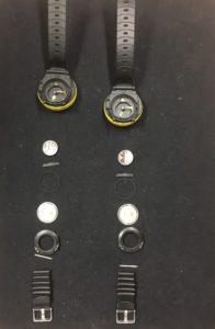 duikcomputer batterij