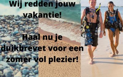 Haal nu je duikbrevet deze zomer!