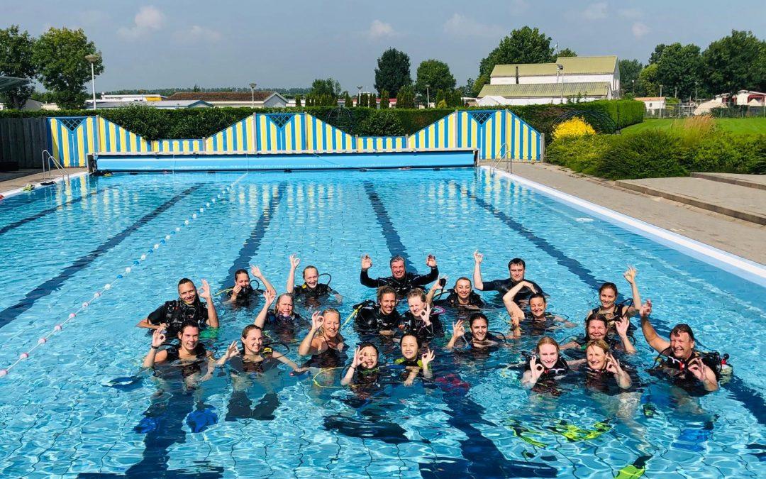 Vrouwen duikdag op zaterdag 17 juli